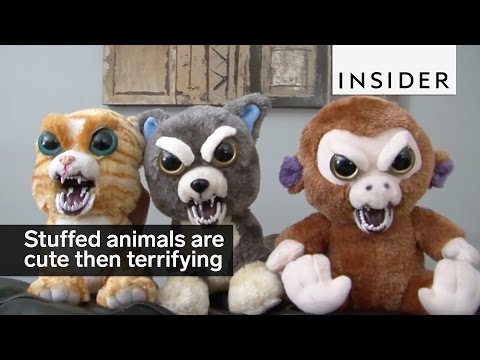 Cute Stuffed Animals Transform Into Killer Looking Toys