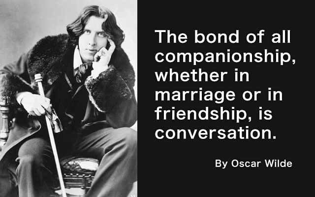 Friendship Quote of Oscar Wilde