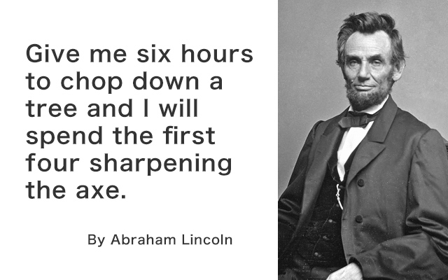 Quotes for success by Abraham Lincoln