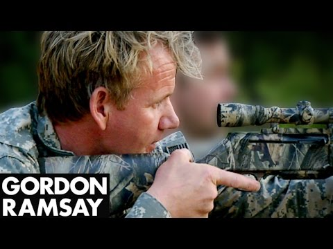 Gordon Ramsay Goes Hunting For Wild Pig