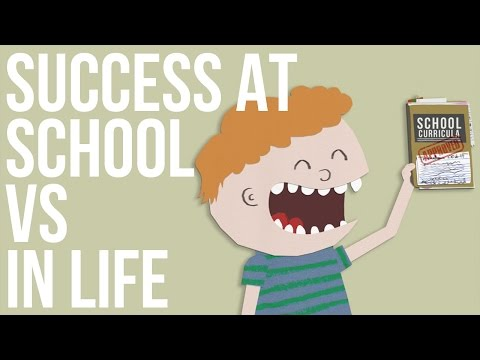 Success At School vs Success At Life