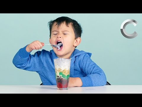 "Kids Try ""More"" Filipino Food"