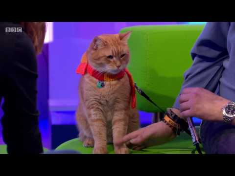 The One Show with James Bowen and his 'StreetCat' Named Bob