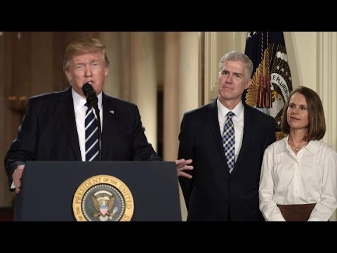 Watch Donald Trump's Entire Supreme Court announcement