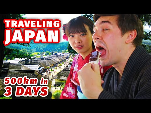 Travelling Japan in Style | 500km in 3 Days