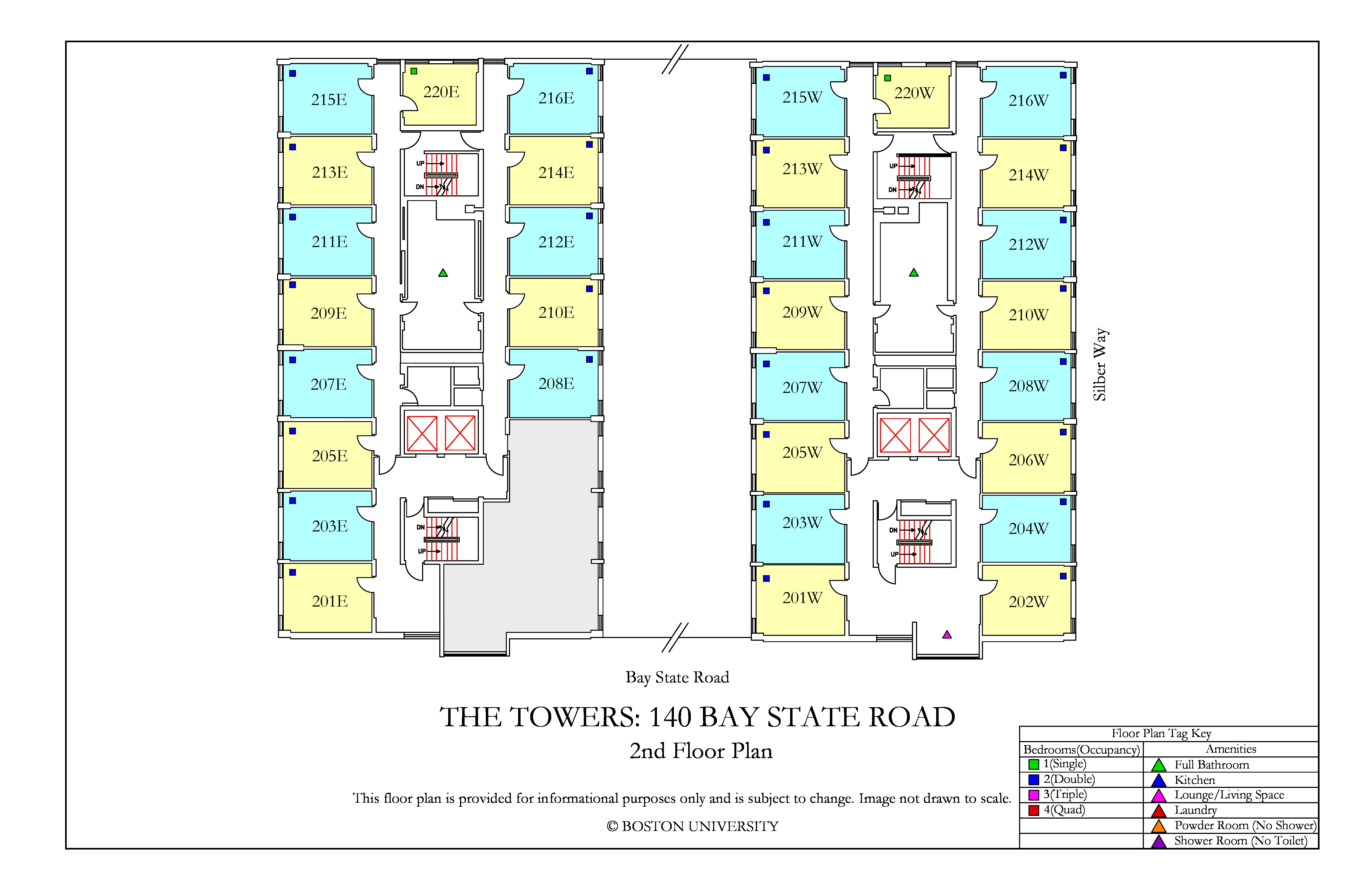 The Towers Floor Plan » Housing