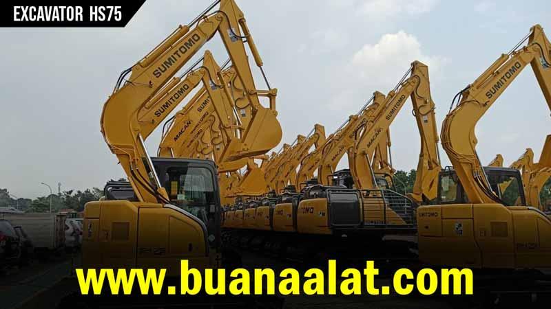 Jual Excavator Sumitomo HS75