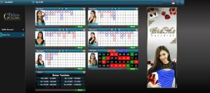 Tampilan Tabel Live Casino Dealer Live Golden Deluxe
