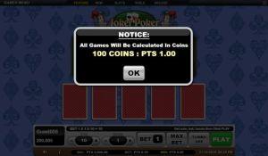 Informasi Nilai 100 Koin Sama Dengan 1 Poin