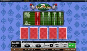 Joker Poker GSoft Online Gaming