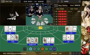 Meja No 5 Pemenang Poker 3 Kartu