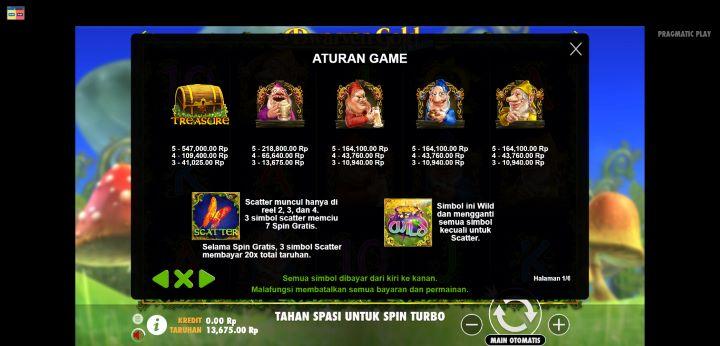 Nilai Simbol Dalam Dwarven Gold Deluxe Buana Gaming