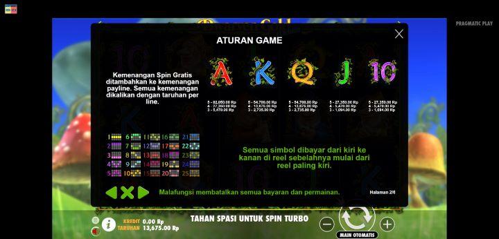 Kemenangan Per Line Dwarven Gold Deluxe Buana Gaming