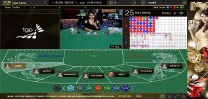 Tampilan Arena Naga Macan SunBet Live Casino
