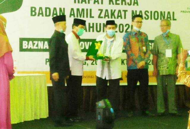 BAZNAS Muba Raih Predikat Lembaga Terbaik di Tingkat Provinsi Sumsel