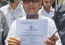 Tim Advokasi Calon Bupati &' Wakil Bupati Musi Rawas Laporkan Pemilik Akun Ahmad Fadli