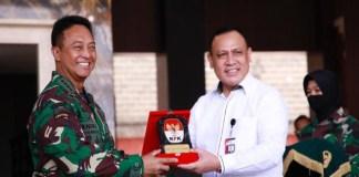 KPK Serahkan Aset Seluas 53 Hektare Ke TNI AD