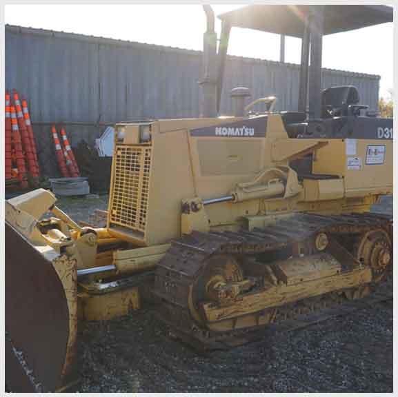 Bulldozer D31E Komatsu