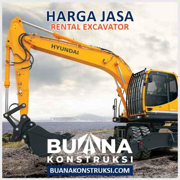 Harga Sewa Excavator