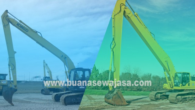Harga Sewa Excavator Long ARM