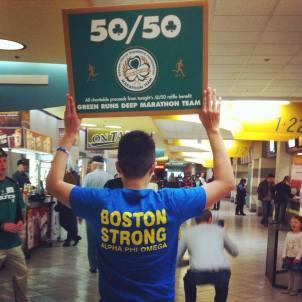 Celtics service!