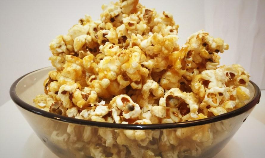 Homemade Caramel Popcorn Sedap dan Rangup