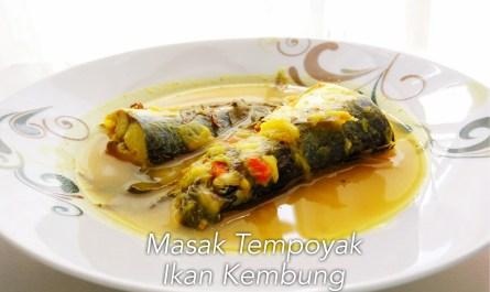 masak tempoyak ikan kembung