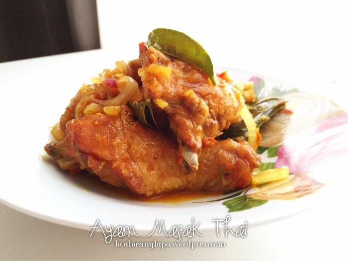 ayam masak Thai
