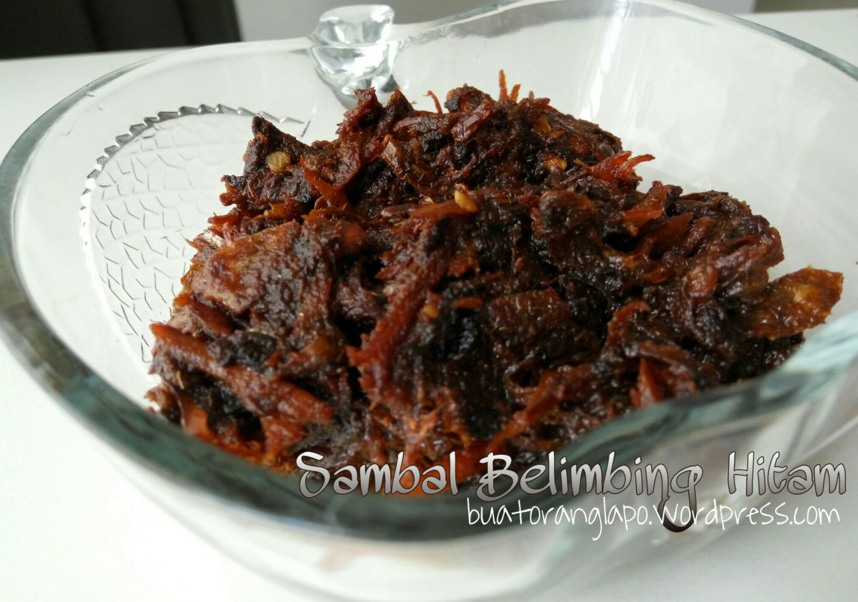 sambal belimbing hitam