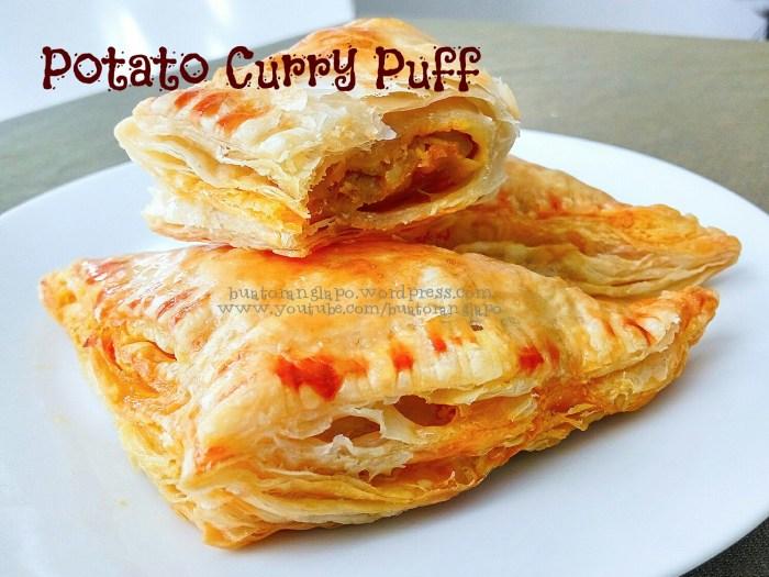 karipap kentang puff pastry