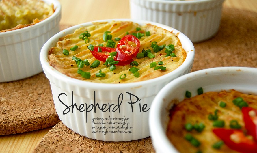 Shepherd Pie (Cottage Pie)