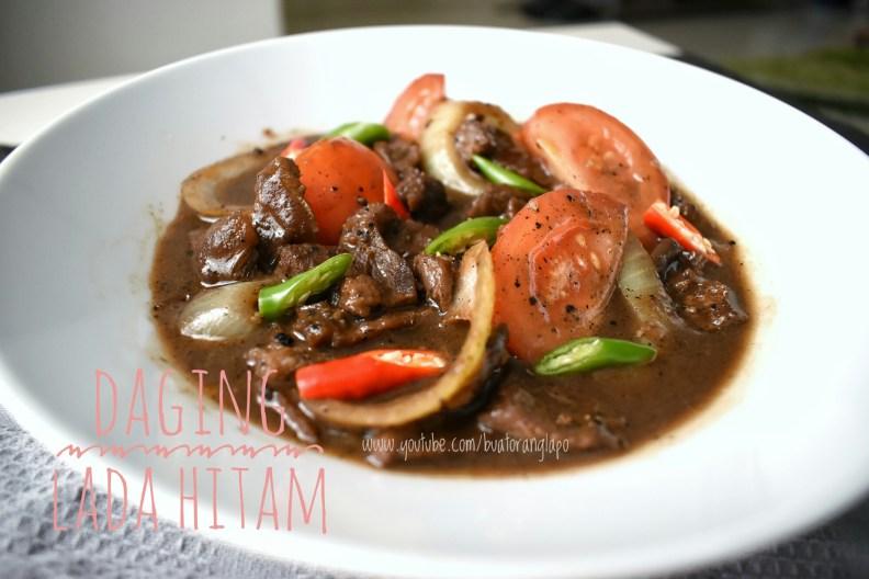 daging masak lada hitam