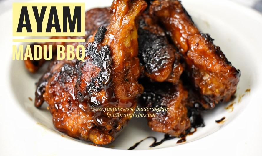 Honey BBQ Chicken (Ayam Madu BBQ)