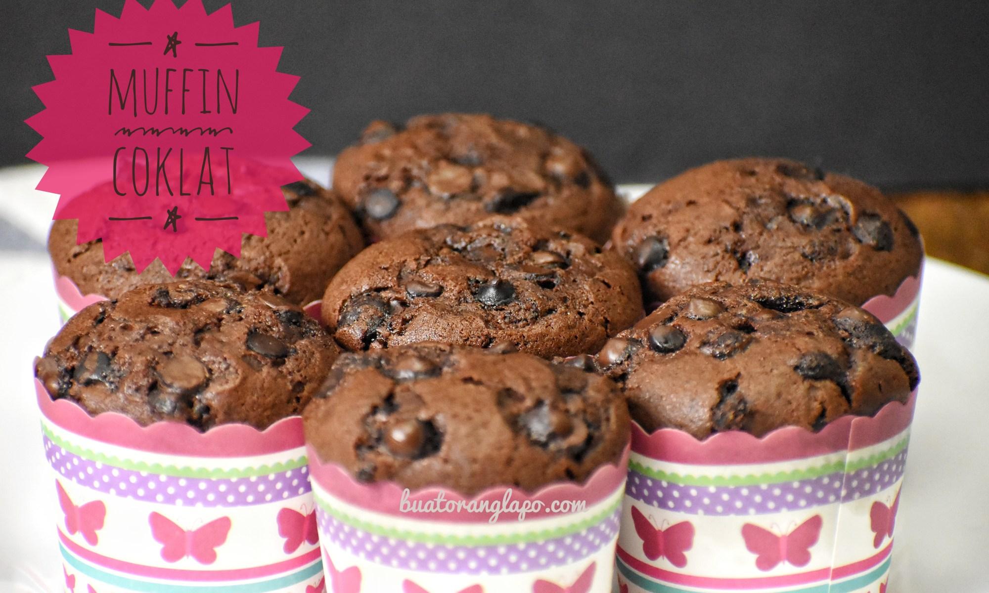 Muffin Coklat Yang Sangat Mudah Super Easy Chocolate Muffin