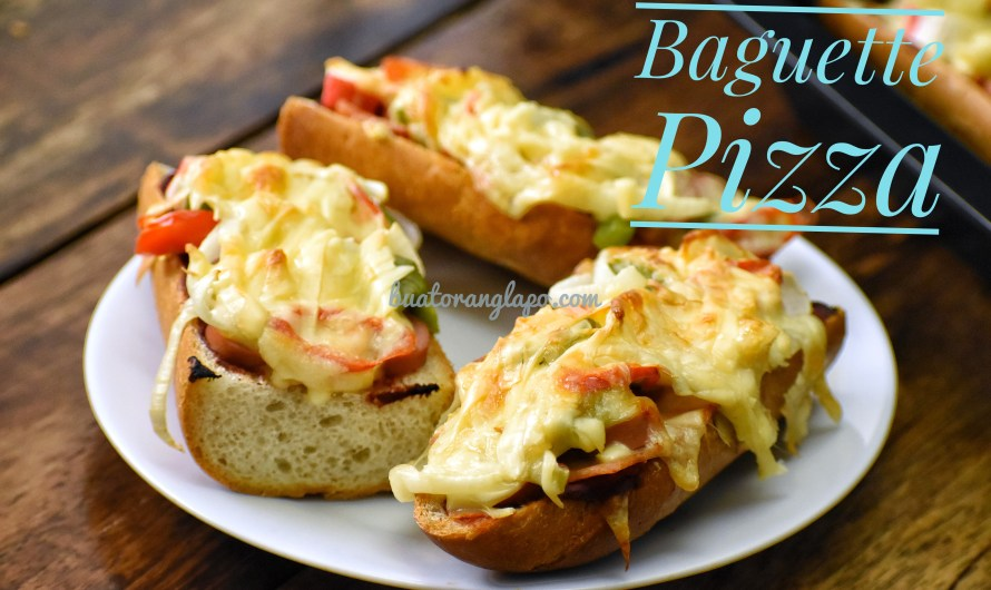 Baguette Pizza Simple dan Sedap