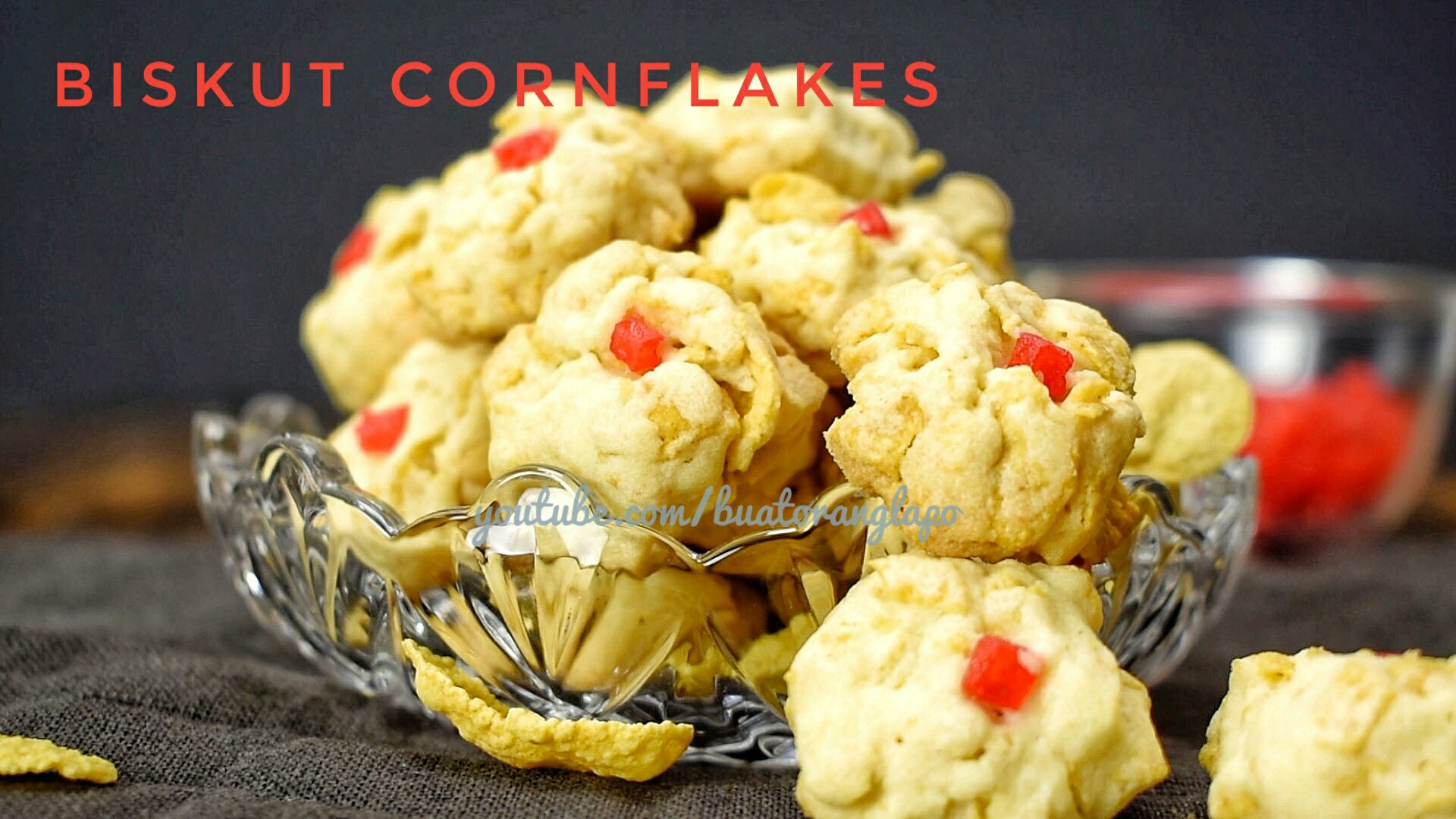 Biskut Cornflakes Rangup Dan Sedap Buat Orang Lapo
