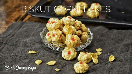 biskut cornflakes
