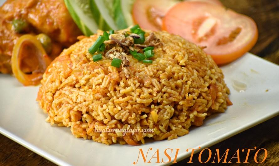Nasi Tomato Mudah