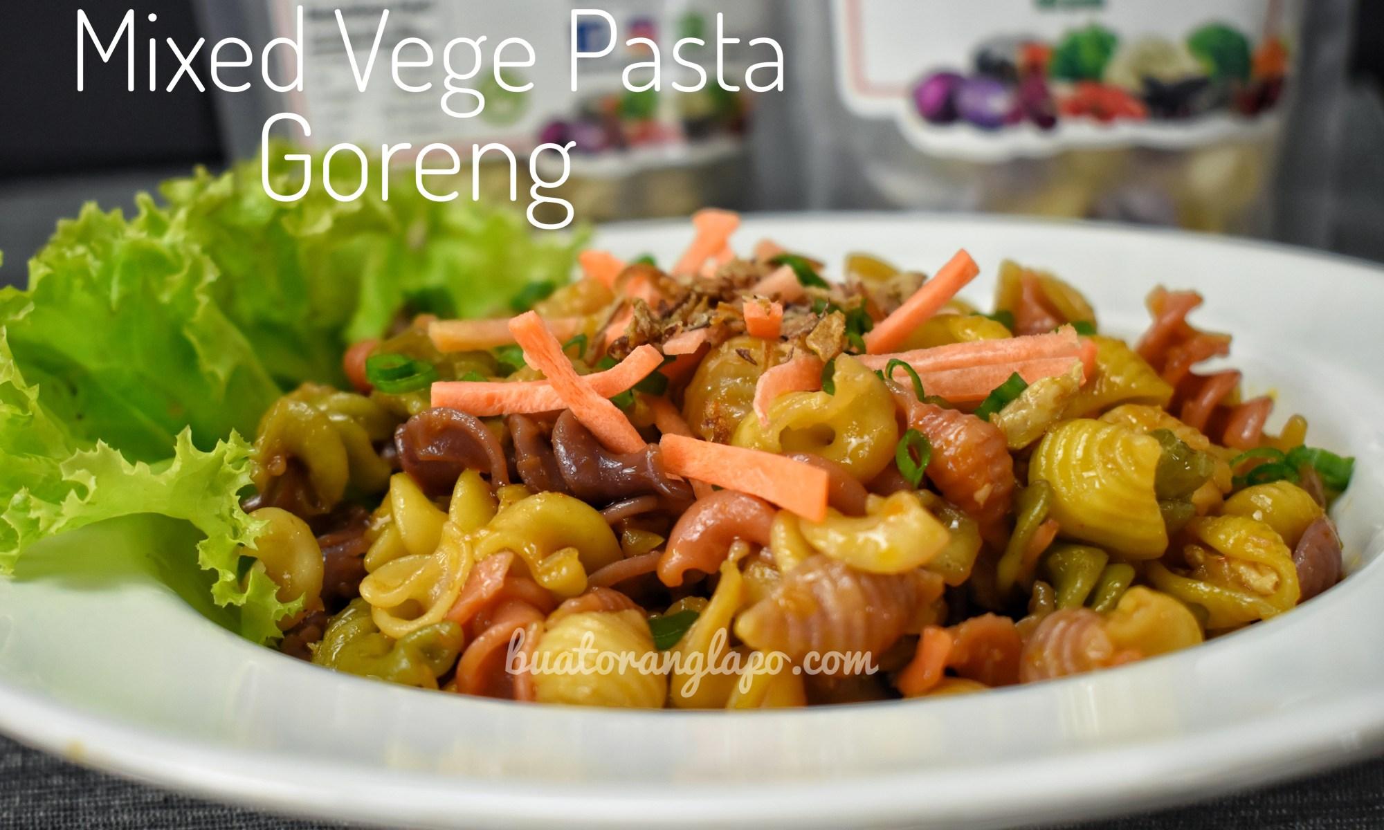 Mixed Vege Pasta Goreng