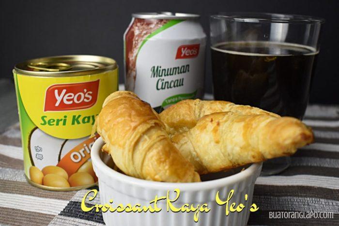 croissant kaya Yeo's