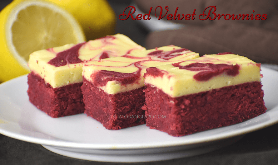 Red Velvet Brownies dengan Cream Cheese