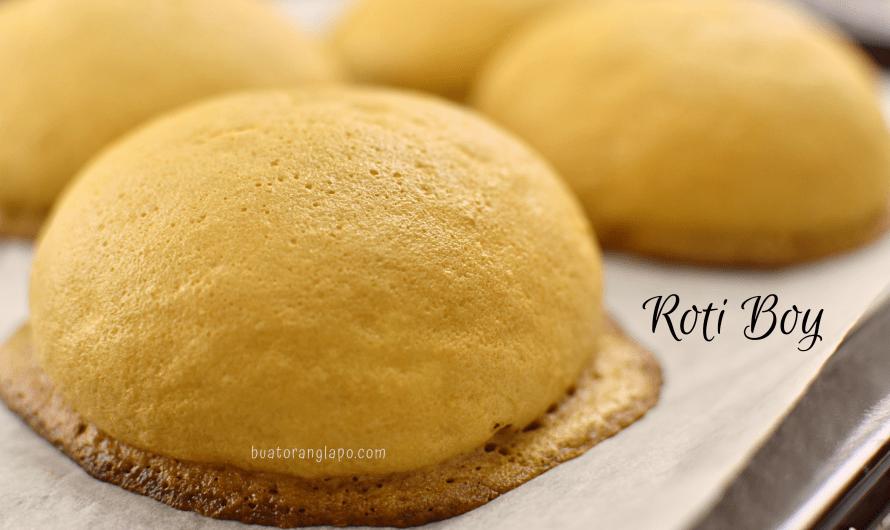 Roti Boy | Mexican Bun | Papparoti Paling Sedap