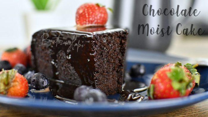 kek coklat lembap