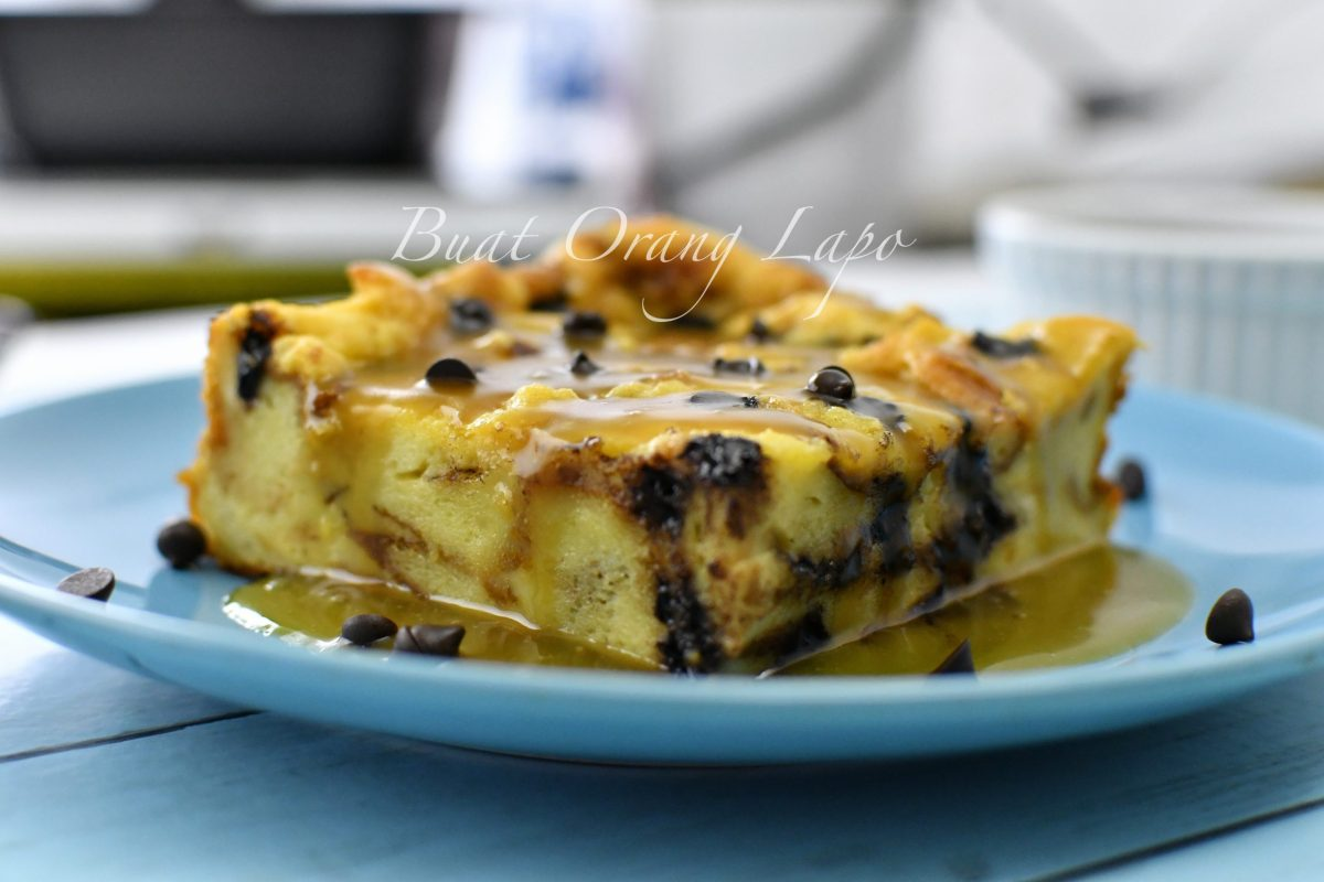 Puding Roti Butterscotch