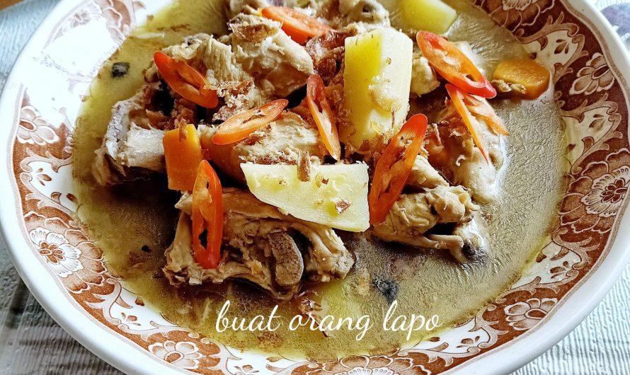 Sup Ayam Sedap Serta Tips Untuk Pekatkan Kuah