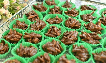 almond crunchy clusters