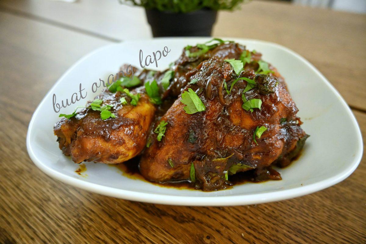 Ayam Kicap Berempah