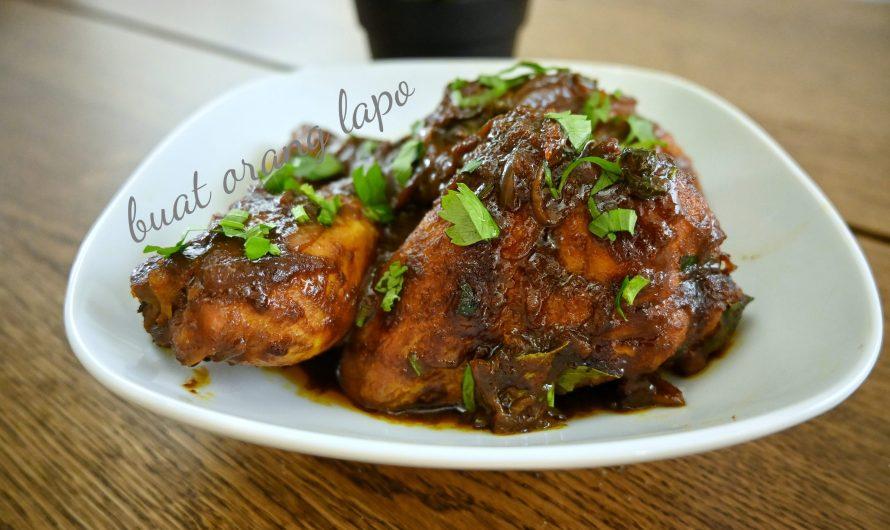 Ayam Kicap Berempah Style Nasi Kandar Yang Padu!