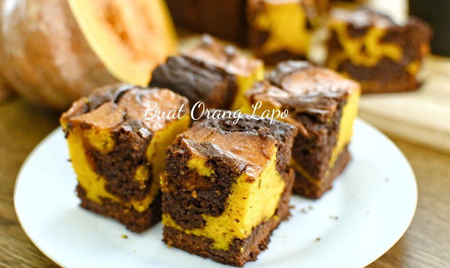 Brownies Labu Kombinasi Mantap Dan Memukau