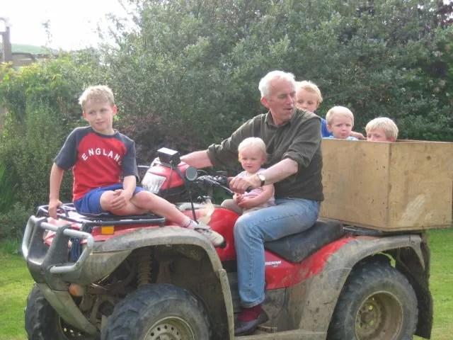 cousins and their Gramp